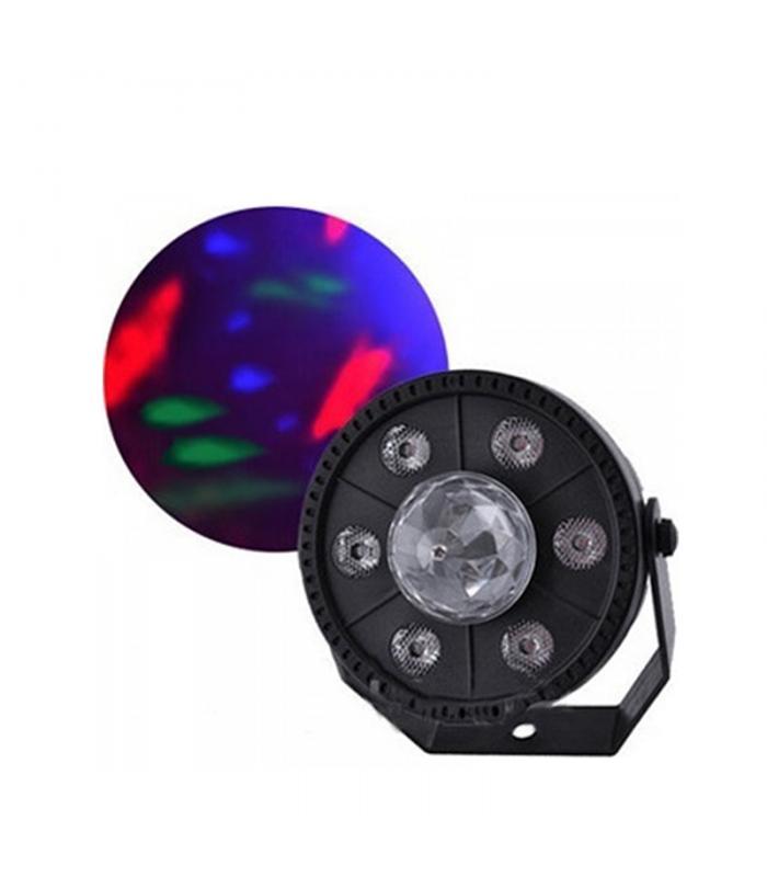 Φωτορυθμικό – QY-YA-16 – 9LED – RGB