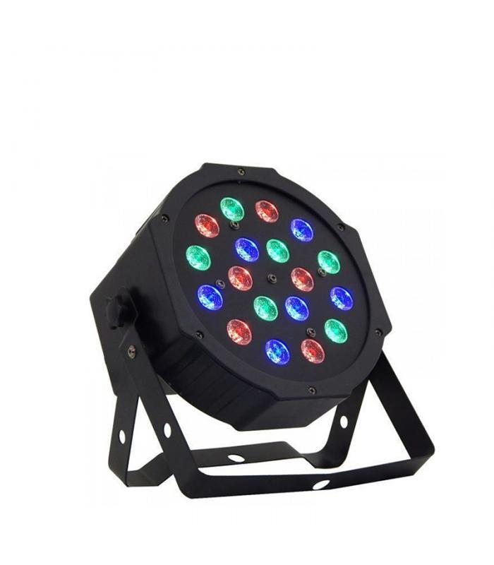 Φωτορυθμικό Προβολέας RGB LED – Ledflat PAR Q100