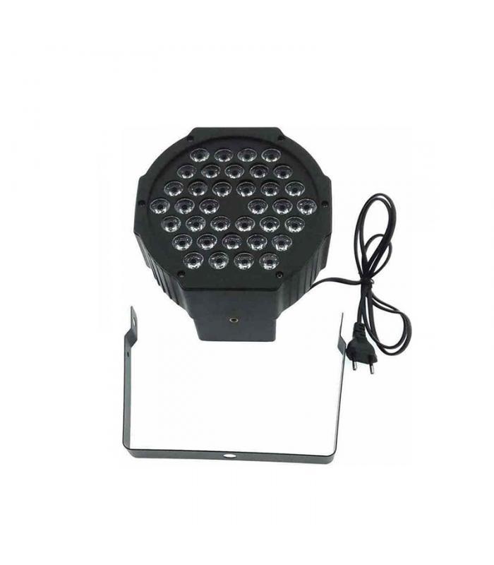 Φωτορυθμικό 36W led flat par stage light DMX512